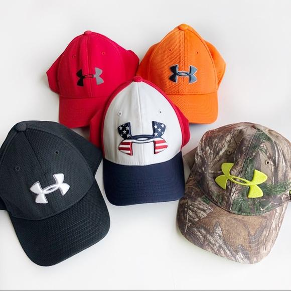 d5d949a13bb ... Boys Under Armour Baseball Caps Y SM MD. M 5b38381c12cd4a36d79a736b